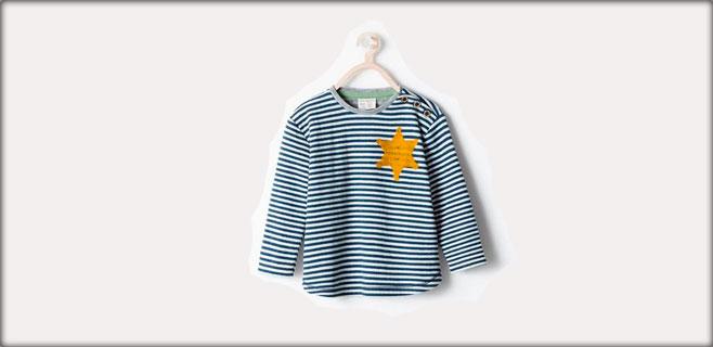 Zara retira una camiseta por parecerse a la de judíos en campos nazis