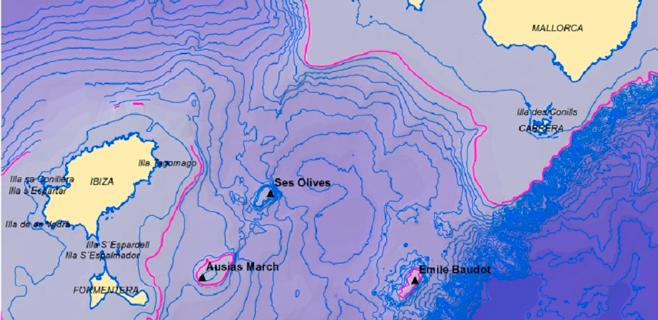 Oceana investigará las montañas submarinas del Canal de Mallorca