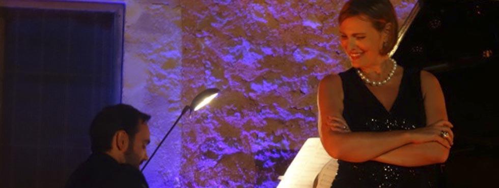 Espectacular concierto de Ainhoa Arteta en Canyamel