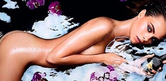 Cara Delevingne se desnuda para una fragancia