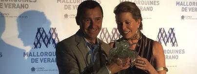 Diandra Douglas premiada por su 'mallorquinidad'