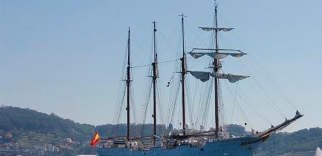 Hallados 127 kilos de cocaína en el 'Juan Sebastián Elcano'