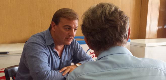 Santi Morey, candidato a las primarias del PSIB-Palma