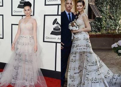 El vestido musical que enamora a las famosas