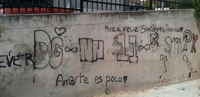 Palma pierde la batalla contra los graffiteros, reyes de la impunidad
