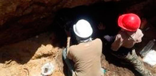 Hallado en México un cráneo de 1.400 años