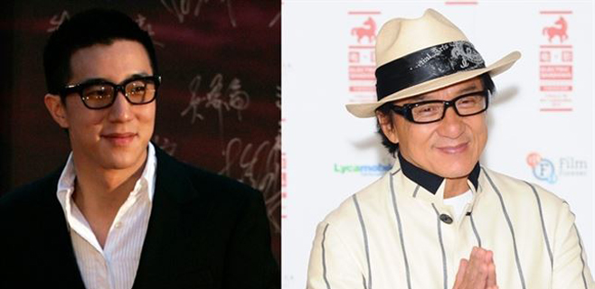 Detenido el hijo de Jackie Chan por posesión de drogas