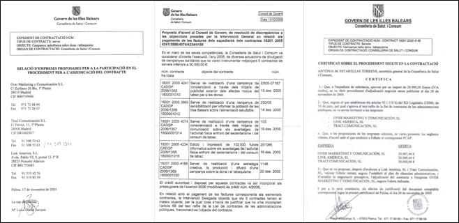 Fiscalía investiga las empresas de la trama Gürtel que trabajaron para Salut
