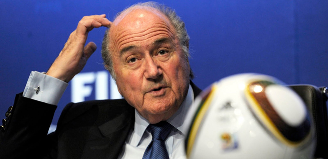 Blatter, hospitalizado por estrés