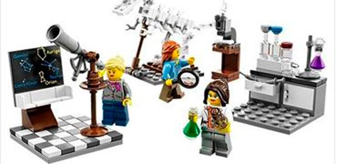 Lego lanza las