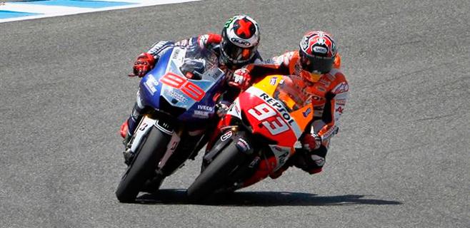 Jorge Lorenzo es segundo en una nueva victoria de Márquez