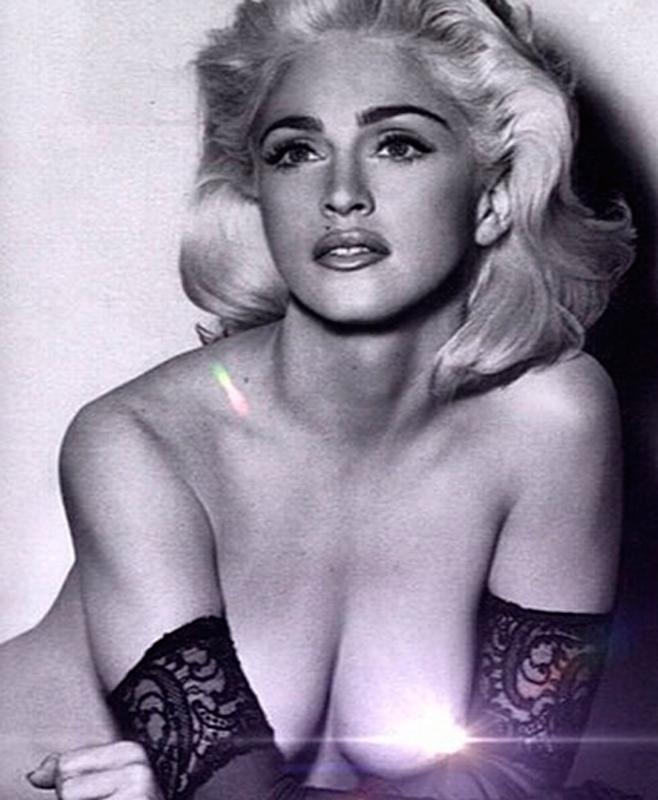 Madonna celebra los 56 con un gran topless