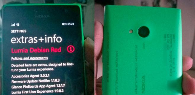 Primeras imágenes del móvil para