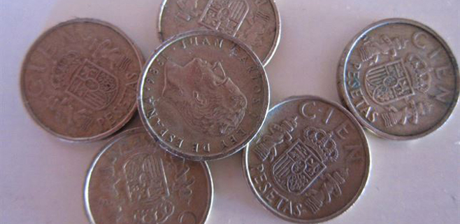 los españoles aún tienen 1.669 millones de € en pesetas