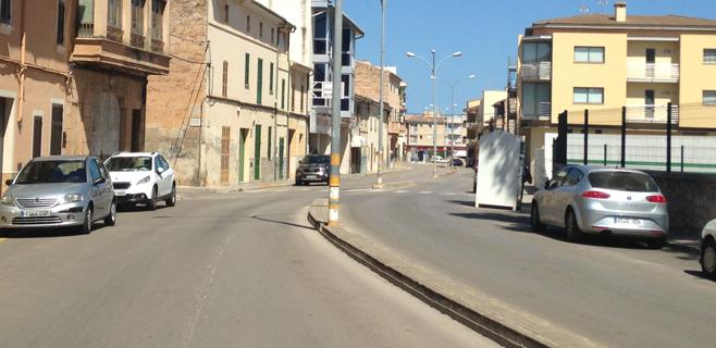 Se inician las obras en la calle Mister Green en Sa Pobla