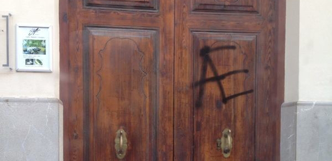 La Obra Cultural Balear denuncia un acto vandálico en su sede de Palma