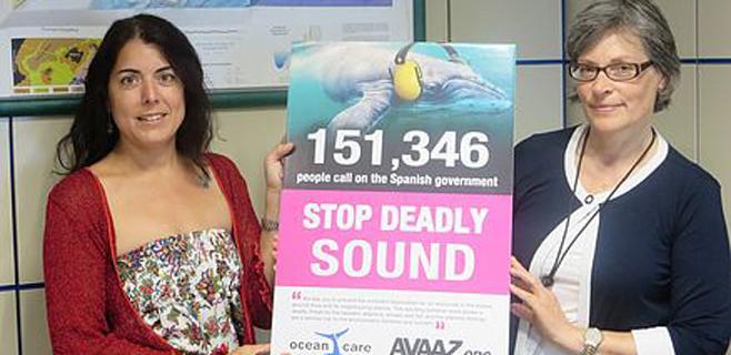 Ocean Care recoge 200.000 firmas contra las prospecciones en Balears