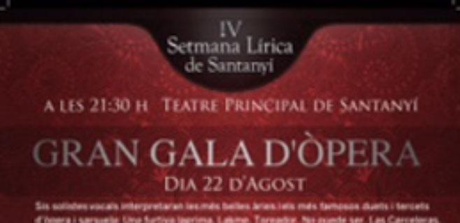 Santany� acoge el Don Giovanni de Mozart