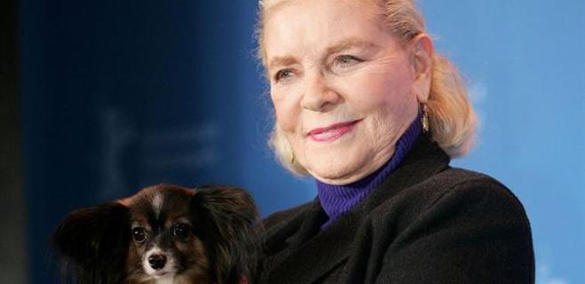 Lauren Bacall deja en herencia 10.000 dólares a su perrita