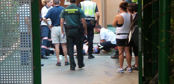 Herido grave un turista precipitado desde un cuarto piso en Magaluf