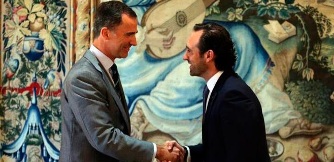 Bauzá transmite a Felipe VI su preocupación por las prospecciones