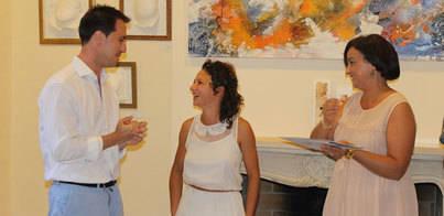 Gabriela Meunié mezcla pintura y teatro en Santanyí