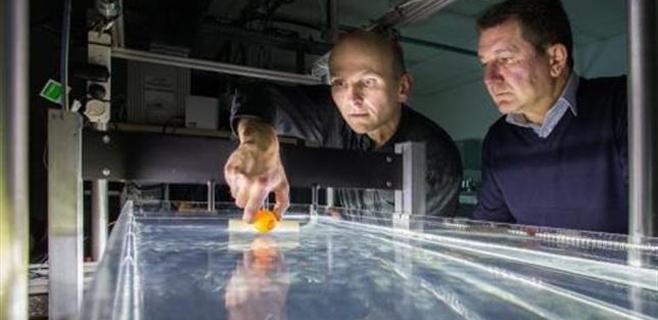 Un invento permite mover y controlar objetos en el agua