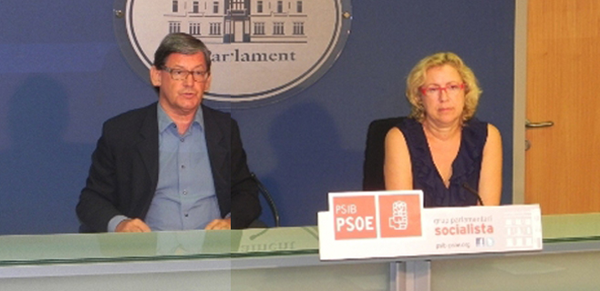 EL PSIB pide la aprobación urgente de la ley de transparencia del Govern