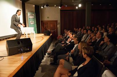 Los empresarios más positivos de Mallorca 'se ríen' de la crisis en el Caixa Forum
