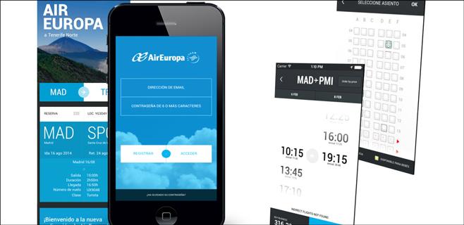 Air Europa estrena app oficial