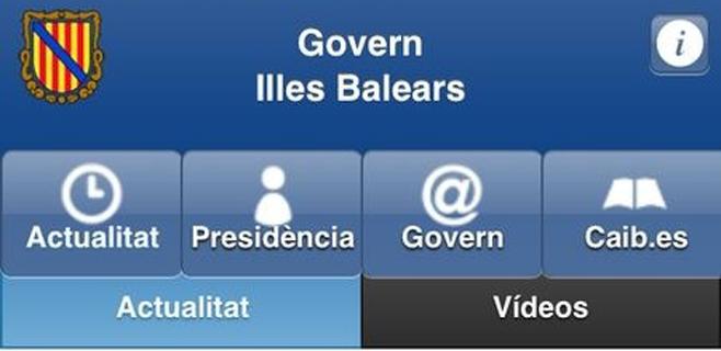 El Govern lanza una app para seguir la actualidad