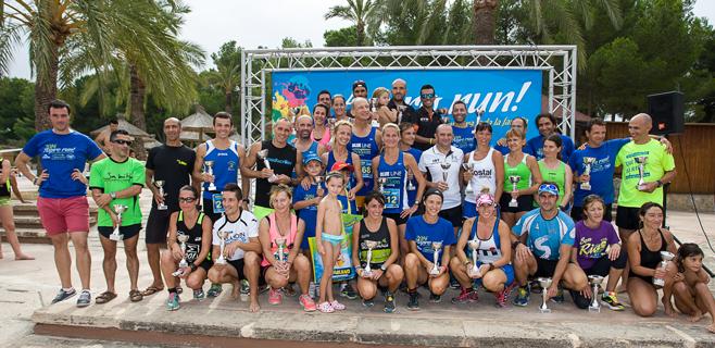 Cerca de 400 participantes en las 'Aspro Run'