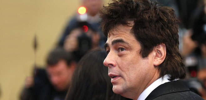 Benicio del Toro recibe el Premio Donostia