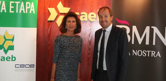 Acuerdo entre Sa Nostra y CAEB en pro de los emprendedores