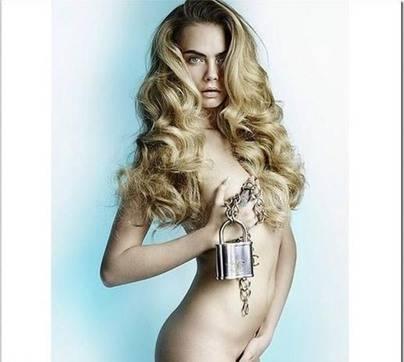 Otra famosa que se desnuda...