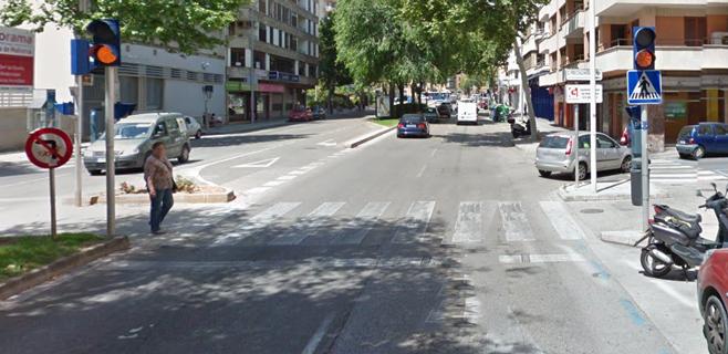 La policía de Palma declara la calle de Manacor