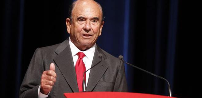 Fallece el presidente del Santander, Emilio Botín