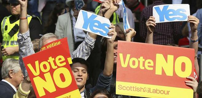 Toda Europa mira a Escocia