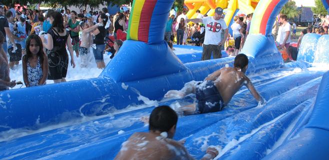 Gran fiesta acuática de fin de verano en Marratxí