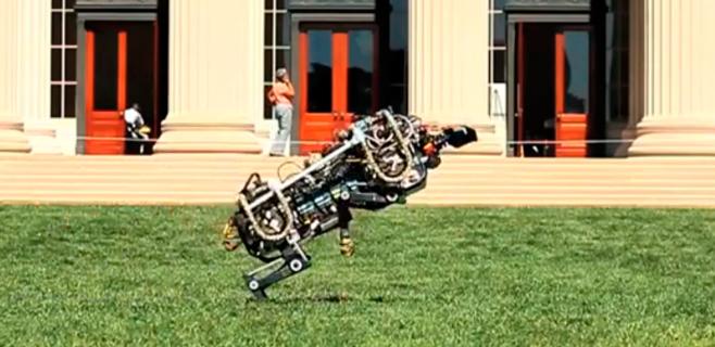 El guepardo robot ya alcanza los 48 km/hora