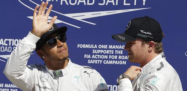 Quinta pole de Hamilton y Alonso séptimo