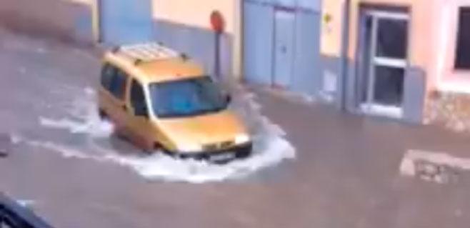 Inundaciones en multitud de pueblos de Mallorca por las fuertes precipitaciones