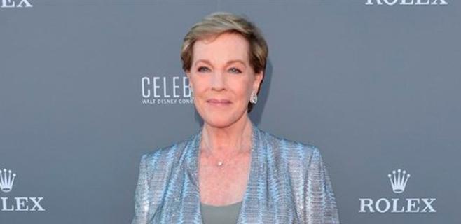 Julie Andrews no podrá cantar más