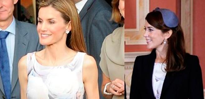 Letizia y Mary de Dinamarca, mismo vestido de Hugo Boss