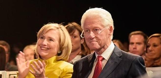 Bill y Hilary Clinton, abuelos