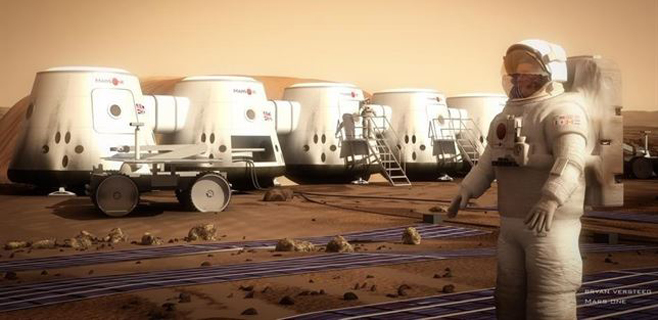 El Mars One rifa un vuelo suborbital para conseguir fondos