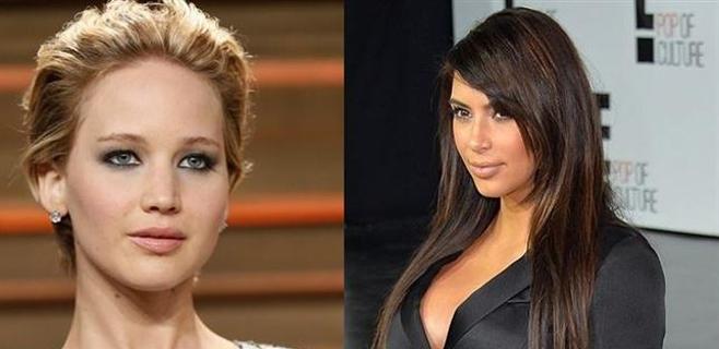 Filtradas nuevas fotos de Jennifer Lawrence y Kim Kardashian