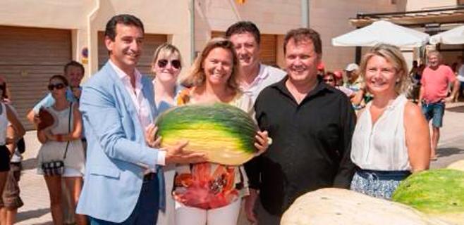 Vilafranca pesa un melón de 21,440 kilos