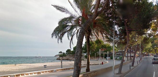 Localizado en el agua el cadáver de un hombre en la playa de Palmanova
