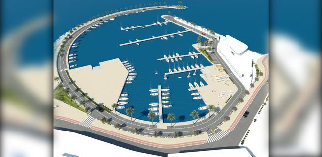 El nuevo proyecto del Club Marítimo de El Molinar tiene 100 amarres menos